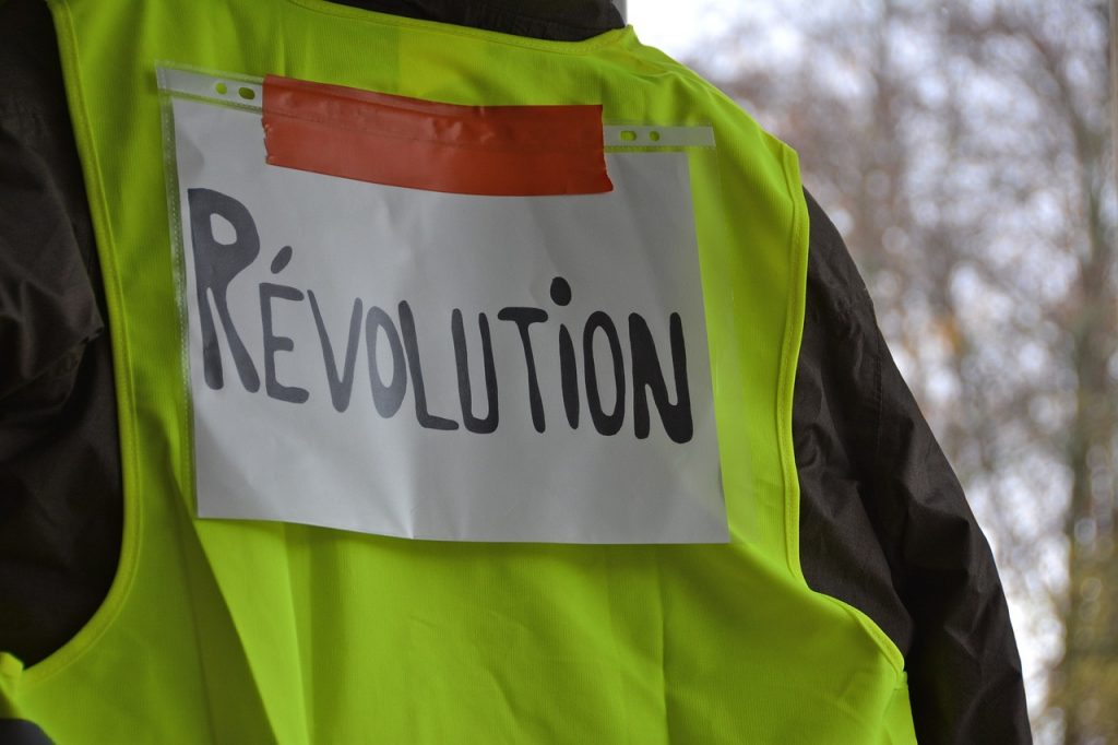 yellow vests, event, revolution